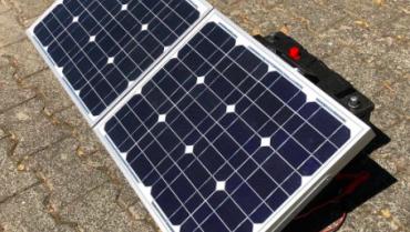 100W Solar, Solarkoffer, Solarmodul, robust, SOFORT einsatzbereit!