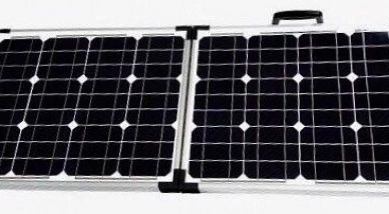 60W Solar, Solarkoffer, Solarmodul, robust, SOFORT einsatzbereit!