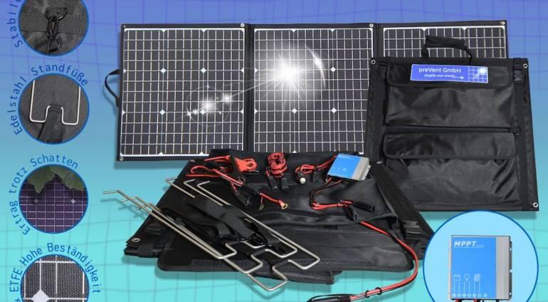 Solartasche 135 Watt – Alles dabei!